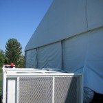 HVAC for tents and clearspan structures lou ky