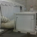 Heat and Air conditioning for tents lou KY