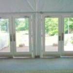 full glass tent doors louisville KY